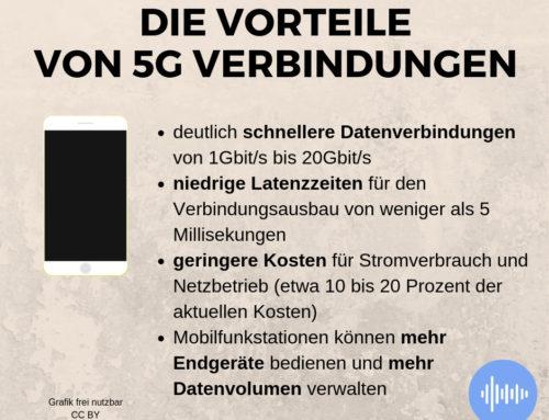 5g – erste Schritte hin zur nächsten Mobilfunkgeneration